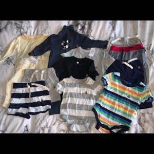 Boys baby gap clothing lot